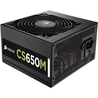 CORSAIR -- ZDROJ 650M CS Series MODULAR s aktivn