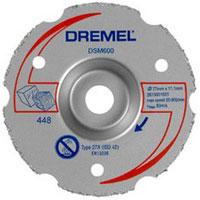 DREMEL DSM600 Uni. karbidový zarovnávací kotuč