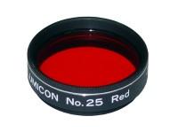 Červený planetárny filter #25 1,25