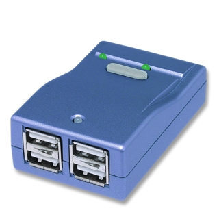 Gembird UHS242 USB 2.0 switching hub