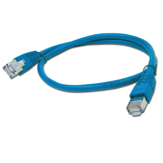 PATCH KABEL FTP 0,5m blue