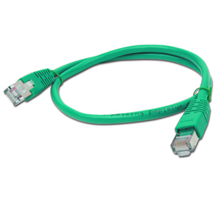 PATCH KABEL FTP 0,5m green