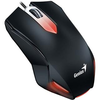 GENIUS Podsvietená myš GAMING X-G200 čierna