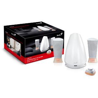 Reproduktory GENIUS Lumina 2.1, 25W, biele