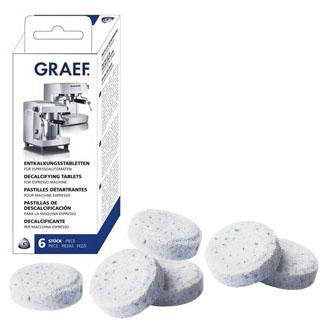 GRAEF Tablety pre odvápnenie kávovaru 6ks