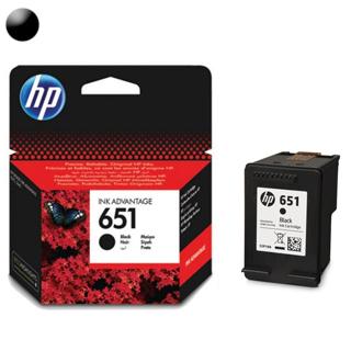 HP Cartridge HP 651 Black