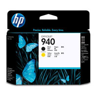HP Tlačová hlava C4900A black a yellow HP940