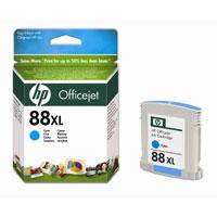 HP Cartridge C9391AE 88XL Cyan Officejet Ink