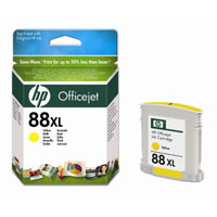 HP Cartridge C9393AE 88XL Yellow Officejet Ink