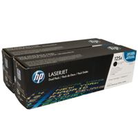 HP Toner  CB540AD black Dual Pack