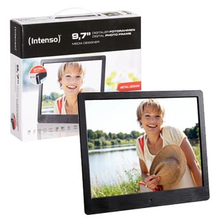 LCD PHOTO FRAME -- Intenso 9,7