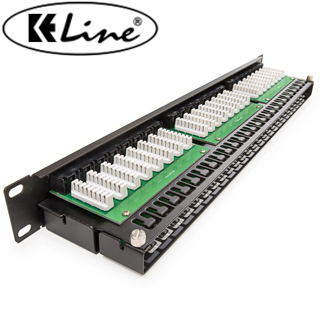 KELINE Patch panel KOMPAKT HD, Category 5E, 48xRJ4