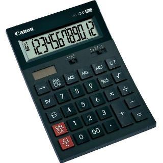 Canon AS-1200 12-číslicová polo-stolová kalkulačka