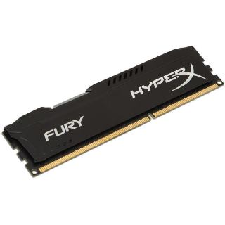 KINGSTON HyperX Fury BLACK 8GB HX316C10FB/8