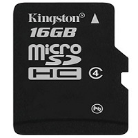 Kingston Micro SDHC Card SP 16GB Class4 bez adapt