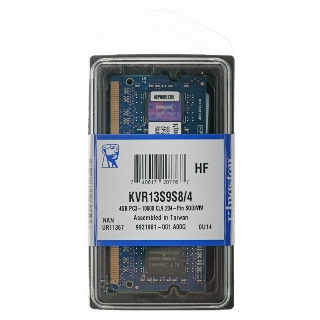 KINGSTON ValueRAM 4GB/DDR3 SO-DIMM/1333MHz/CL9/1.5