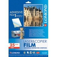 LOMOND PET film Laser A4/25 samolep. Clear 2800003