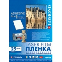 LOMOND PET film Laser A4/25 samolep White 2810003