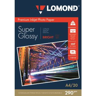 LOM - Prem Photo Super Glossy 20x290g/m2 A4