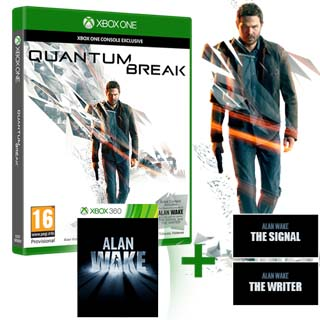 XBOX ONE Quantum Break + Alan Wake