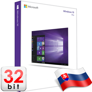 MS WINDOWS 10 Pro SK 32-bit OEM