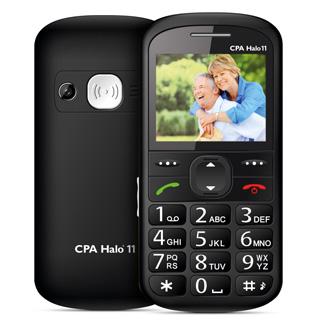 MYPHONE Telefón pre seniorov HALO 11 čierny