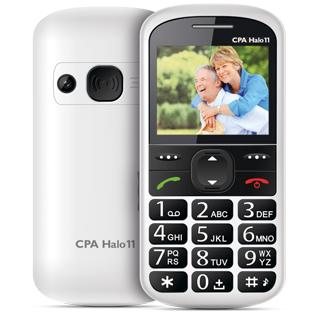 MYPHONE Telefón pre seniorov HALO 11 biely