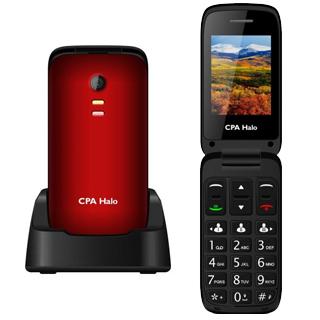 MYPHONE HALO13 Telefón pre seniorov červený