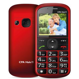 MYPHONE Telefón pre seniorov HALO 11 červený