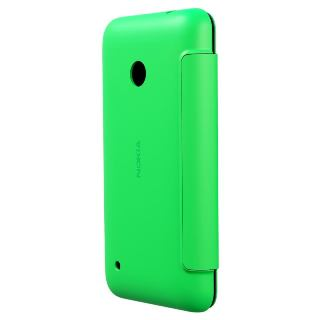 NOKIA Ochranné púzdro FLIP pre Lumiu 530 Zelené