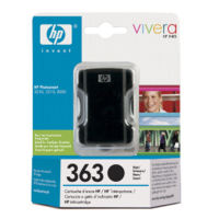 HP Cartridge C8719EE  BLACK 363 17ml