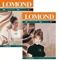 LOMOND Thermotransfer Ink paper Dark 10xA4