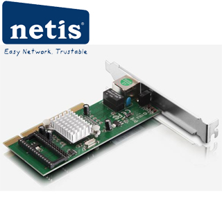 NETIS Ethernet card PCI 1GB AD1102