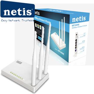 NETIS WF2409E wifi 300Mbps AP/router, 4xLAN, 1xWAN