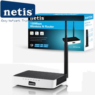 NETIS WF2411D wifi 150Mbps AP/router, 4xLAN, 1xWAN