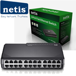 NETIS ST31024P 24xTP 10/100Mbps 24port switch