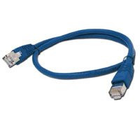 PATCH KABEL UTP 0.5m blue