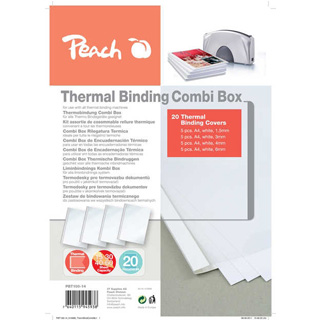 PEACH Thermal Binding Covers Comb Box PBT100-14