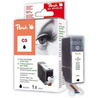 Cartridge Peach kom. CANON chip PGI-5Bk PI100-64