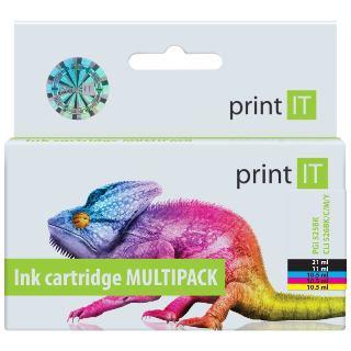 Cartridge PrintIT PGI-525PGBk+CLI-526 CMYK (Canon)