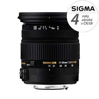 SIGMA 17-50/2,8 DC OS HSM NIKON