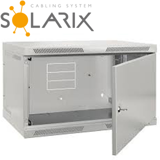SOLARIX Nástenný rozvádzač SENSA 18U 400mm, plech