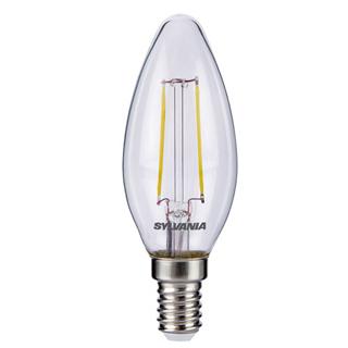 LED Sylvania RETRO Sviečka E14 2W 250lm 2700K