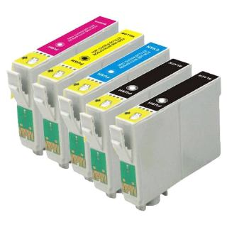 Cartridge Peach kom. pack Epson T0715 PI200-121