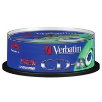 CD MED  VERBATIM 700MB 52speed 25cake 43432