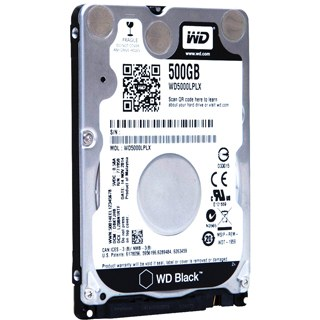 "WD BLACK Mobile 500GB 2,5""/32MB/7mm"