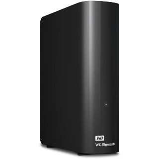WD Elements Desktop 4TB black