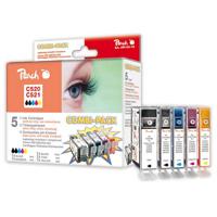 Cartridge Peach komb pack CANON CLI-521XL PI100-85